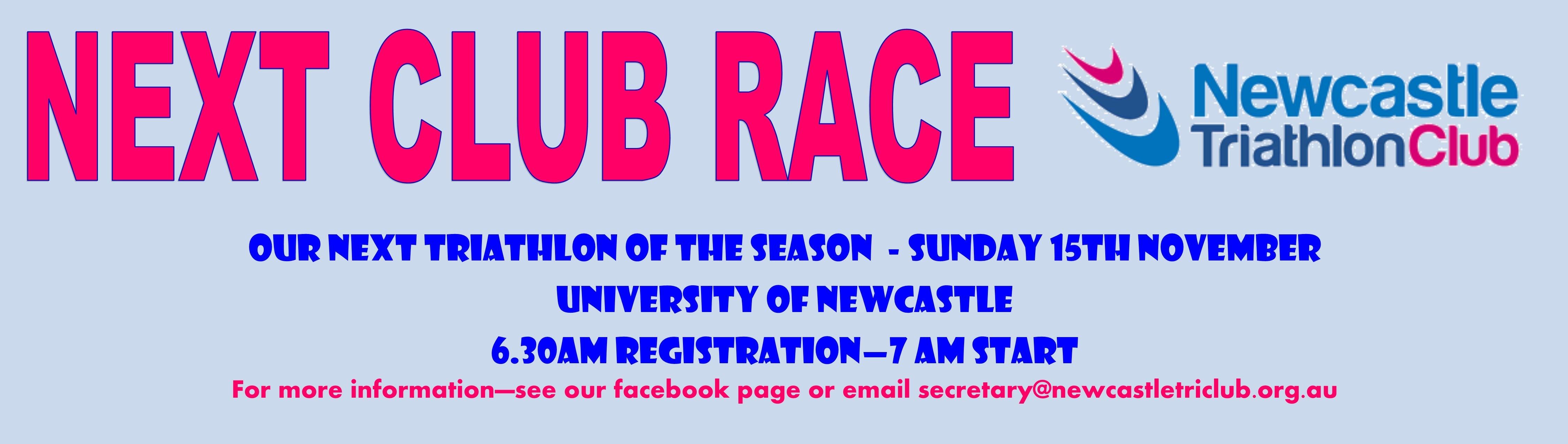 Next Race
